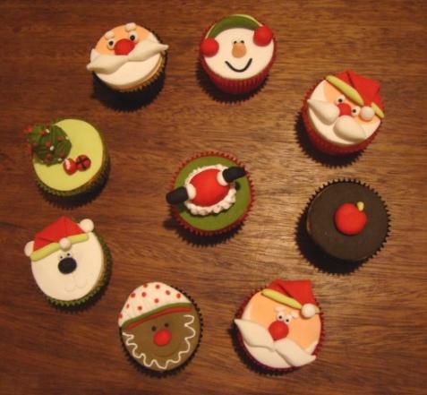 cupcake natal1